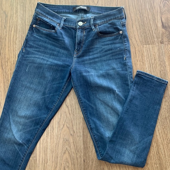 Express Jeans Mid-Rise Skinny